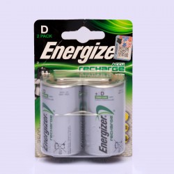 ENERGIZER SIZE D. 2pack